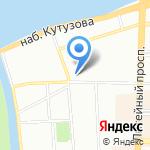 Аллод на карте Санкт-Петербурга