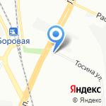 Питер-АТ на карте Санкт-Петербурга