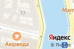 Схема проезда до компании Latinos в Санкт-Петербурге