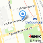 Di-ТУР на карте Санкт-Петербурга