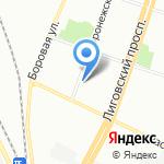 Российский государственный гидрометеорологический университет на карте Санкт-Петербурга