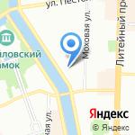 SENSORICA на карте Санкт-Петербурга