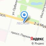 7 на карте Санкт-Петербурга