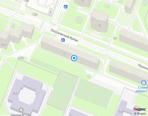 Товарищество собственников жилья «Лотос» на карте Санкт-Петербурга