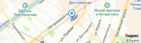 Открытие Тревел на карте Санкт-Петербурга