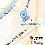 Актуальная Геология на карте Санкт-Петербурга
