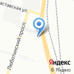 Малая Механизация на карте Санкт-Петербурга