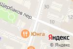 Схема проезда до компании Телесинтез в Санкт-Петербурге