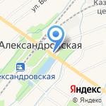 Магазин выпечки на карте Санкт-Петербурга
