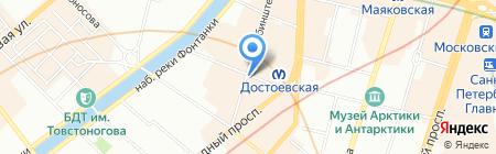 ОБПОТРЕБНАДЗОР на карте Санкт-Петербурга