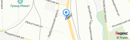 Пипл Бас на карте Санкт-Петербурга