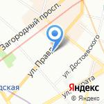 City Style на карте Санкт-Петербурга