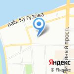 Effort на карте Санкт-Петербурга