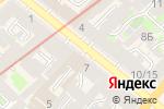 Схема проезда до компании Ленок в Санкт-Петербурге