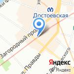 ПитерЪ на карте Санкт-Петербурга