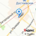Мемориал на карте Санкт-Петербурга