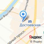 Эскомед на карте Санкт-Петербурга
