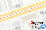 Схема проезда до компании УВЕКС СПР в Санкт-Петербурге