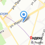 ДжазПринт на карте Санкт-Петербурга