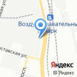 Служба аренды манипуляторов на карте Санкт-Петербурга