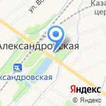 Раковый Ампир на карте Санкт-Петербурга