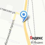Дизелев на карте Санкт-Петербурга