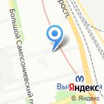 Медико-генетический центр на карте Санкт-Петербурга