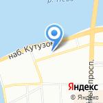 Ева на карте Санкт-Петербурга