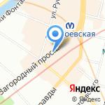 Ассоциация медицинских сестёр России на карте Санкт-Петербурга