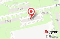 Схема проезда до компании Техметстрой в Санкт-Петербурге