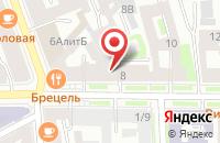Схема проезда до компании ПрофКлининг в Александровке
