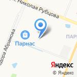 Артель на карте Санкт-Петербурга
