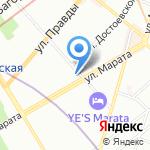 Оскар на карте Санкт-Петербурга