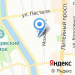 Старинные интерьеры на карте Санкт-Петербурга