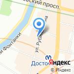 АСТРА ОХРАНА на карте Санкт-Петербурга