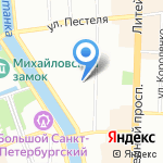 Save Cars на карте Санкт-Петербурга