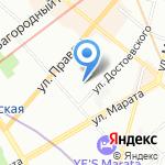 ИНЖЭКОН на карте Санкт-Петербурга