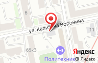 Схема проезда до компании Алла в Иваново