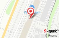 Схема проезда до компании Онтарио в Санкт-Петербурге