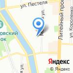 Клото на карте Санкт-Петербурга