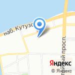 Региональная общественная организация по защите прав потребителей в области долевого строительства на карте Санкт-Петербурга