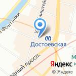 CP HOSTEL на карте Санкт-Петербурга