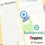 Детский сад №93 комбинированного вида на карте Санкт-Петербурга