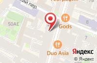 Схема проезда до компании Атомпромтех в Санкт-Петербурге