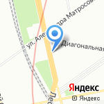 Катод на карте Санкт-Петербурга