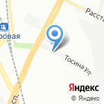 100AUTO на карте Санкт-Петербурга
