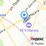 Санкт-Петербургский институт управления развитием человеческих ресурсов на карте Санкт-Петербурга