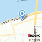 Центральное Бюро Экспертизы ЛКФ на карте Санкт-Петербурга