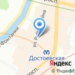 АСТИ на карте Санкт-Петербурга