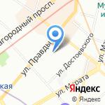 Kids TV на карте Санкт-Петербурга